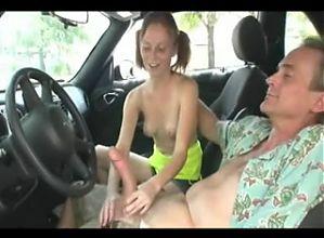 SB3 Alyssa Wanks Him Off For A Ride !