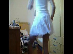 return black girl no panties dance