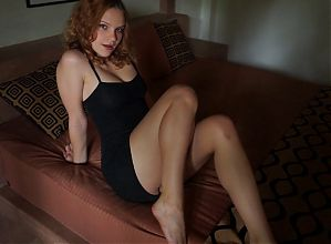 Fuck a fit model after a photosession and feel Real orgasm